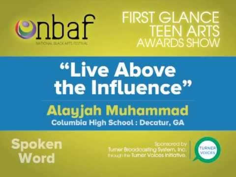 National Black Arts Festival : First Glance Teen Arts Awards