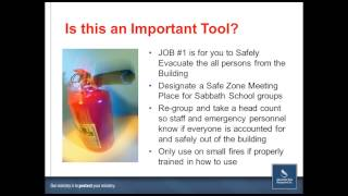 2014 0921 Webinar Fire Safety - When the Alarm Sounds