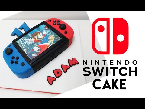 Nintendo Switch Cake Tutorial   Cake Decorating   Gaming Cake