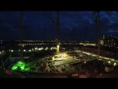 Hamburg Construction Timelapse