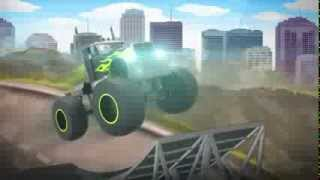 monster truck ultimate playground game trailer