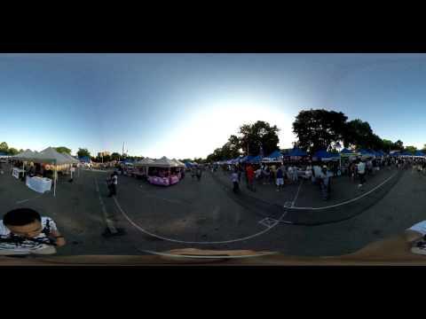 7/25 New York City Corona Park Night Market 360º Video