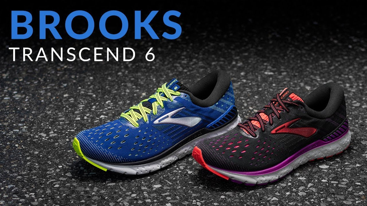 3ec71459624de Brooks Transcend 6 - Running Shoe Overview - YouTube