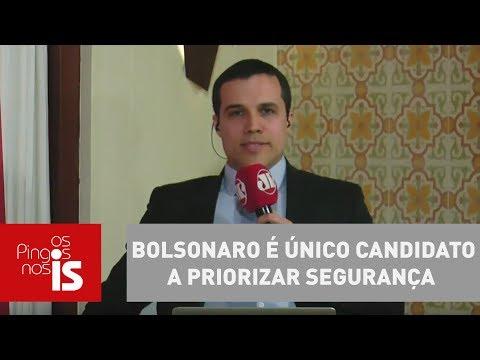 Felipe Moura Brasil: Bolsonaro é único Candidato A Priorizar Segurança
