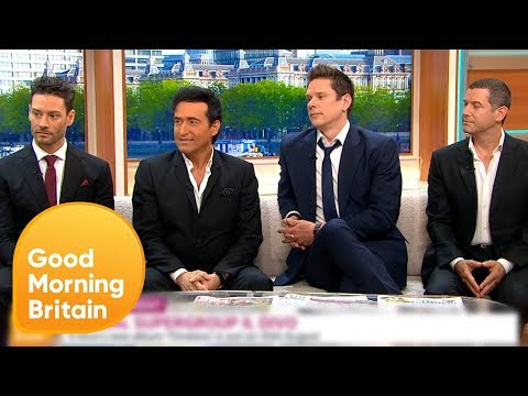 Il Divo's New Single Is A Spanish Version Of Adele's Hit 'Hello' | Good Morning Britain