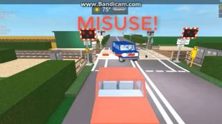 ROBLOX: 2017 Level Crossing Near Misses & Crashes