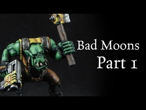 How to paint Bad Moons Orks pt.1