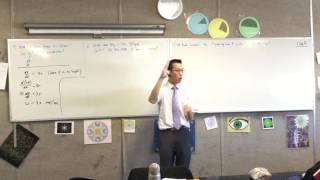 Uniform Circular Motion examples (1 of 2: Finding angular velocity & acceleration)