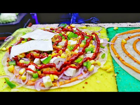 Veg Quesadilla And Different Types Of Frankie | Indian Style Mexican Food | Street Food India