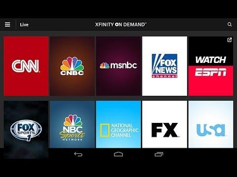 COMCAST LIVE TV TOGO  ANDROID APP REVIEW