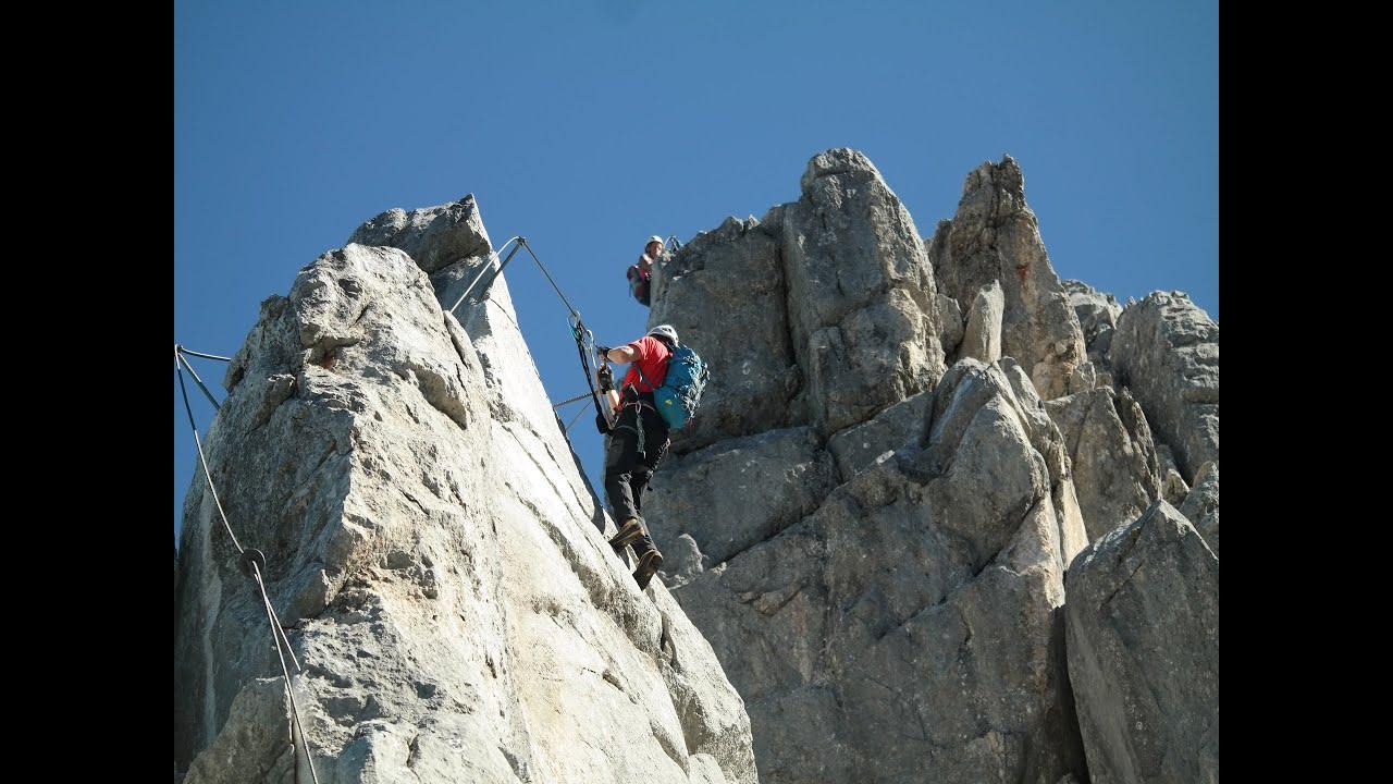 Klettersteig Odenwald : Der klettersteig tajakante d youtube