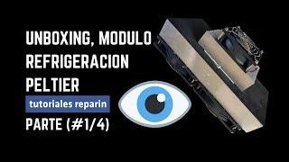 🔴 UNBOXIN Peltier, (#1/4) Módulo Sistema de refrigeración, Aire Acondicionado Casero