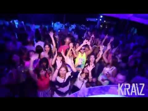 KRAIZ live at Xana Beach Club 31-08-2015