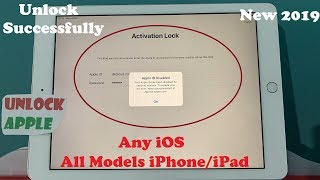 Quick iCloud Fix✅ iCloud Activation Lock iPhone/iPad Models✅ Any iOS Without JailBreak May 2019