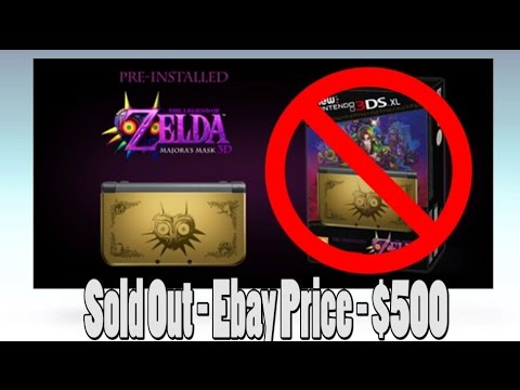 Majora's Mask Box And 3DS Being Price Gouged?