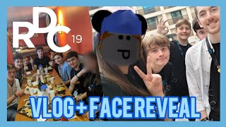 My Experience at ROBLOX Developer Conference 2019! (RDC 2019 VLOG/Face Reveal)