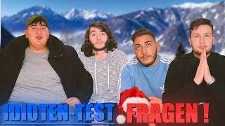 IDIOTEN-TEST FRAGEN mit ANONYM, JONNY und LOGTUBE !..😱| Denizon