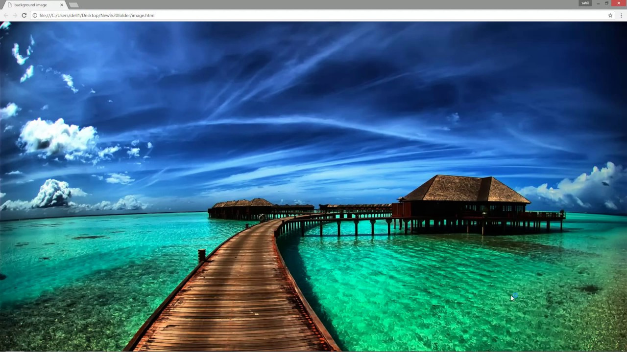How to put background image in HTML and CSS. | Ninja ...
