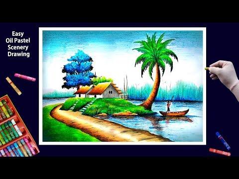 Beautiful Scenery Drawing