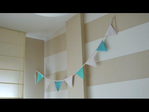 hacer banderines de papel Aprende A Hacer Tus Propias Guirnaldas Para Decorar