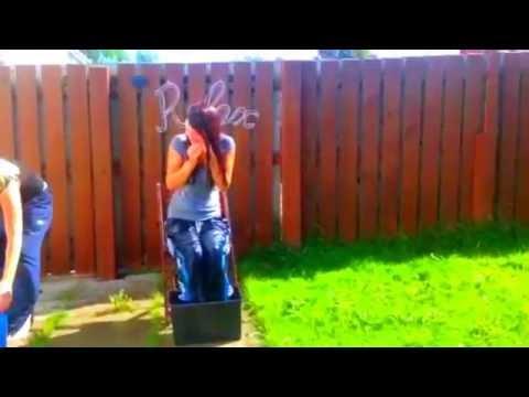 My Ice Bucket Challenge!