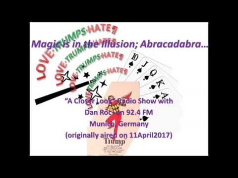 Magic is in the Illusion;  Abracadabra...