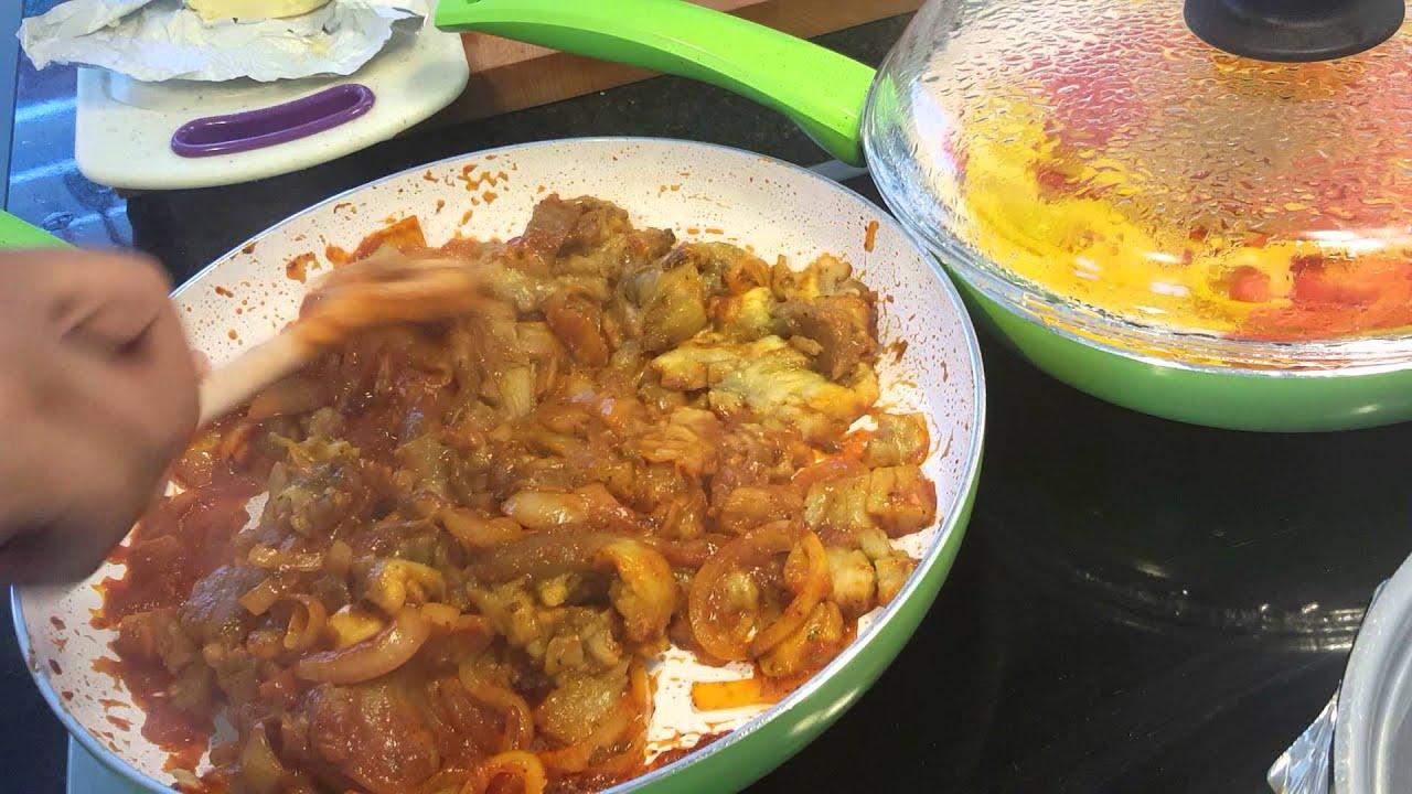 Como Cocinar Berenjenas Guisadas Ami Manera Youtube