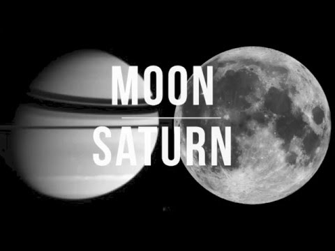 Synastry Inter-Aspect Series: MOON + SATURN Compatibility