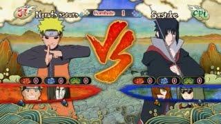 NS3FB [PC] - Naruto oscuro vs. Sasuke (Akatsuki)