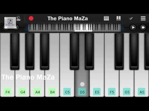 Muskurane ki Wajah(Arijit Singh) |Easy Piano Notes | Citylights | Perfet piano |