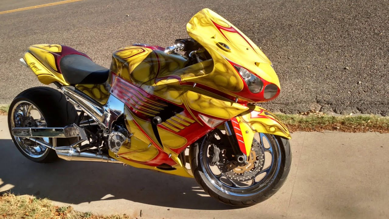 Custom Painted Kawasaki Zx