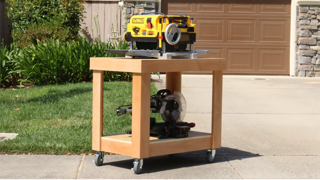 Building The Ultimate Tool Cart - YouTube