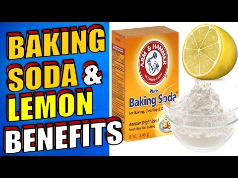 The Amazing Benefits of Baking Soda & Lemon Juice for Acne, Cancer & Teeth Whitening