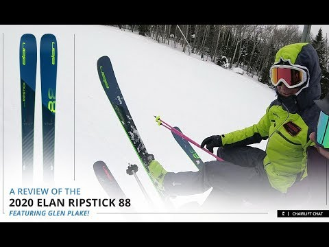 2020 Elan Ripstick 88 Ski Review Featuring Glen Plake
