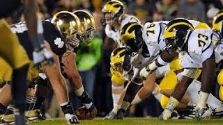 Notre Dame vs Michigan Pump Up 2014