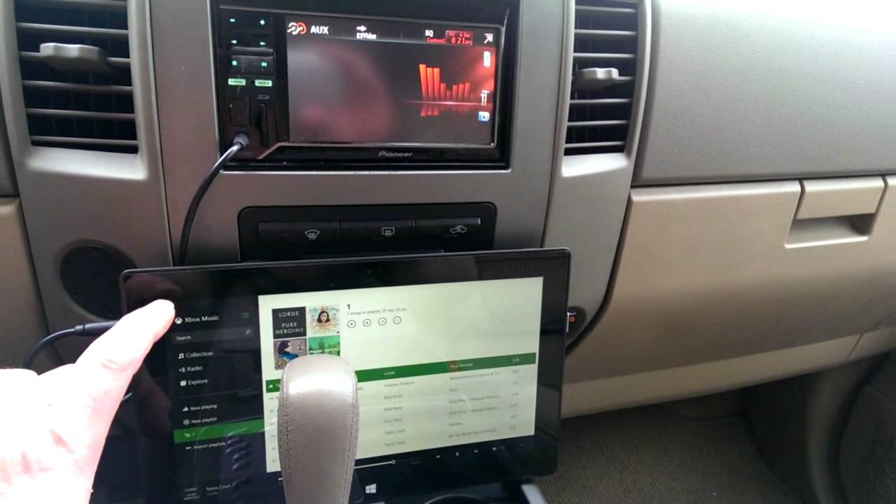 Microsoft Surface In The Car Youtube