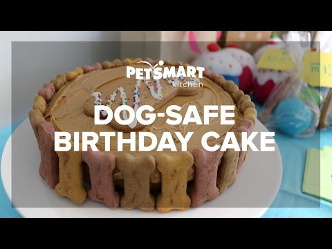 PetSmart Kitchen Doggie Birthday Cake