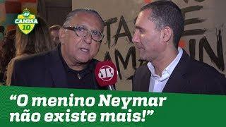 """Exclusivo! Galvão Bueno DISPARA: """"o menino Neymar não existe mais!"""""""