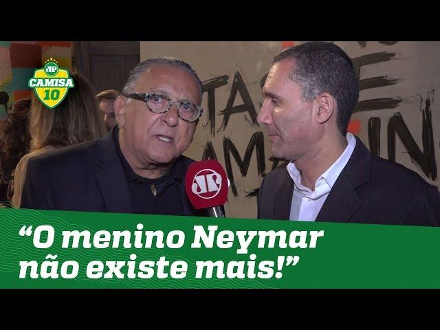 Exclusivo! Galvão Bueno DISPARA: o menino Neymar não existe mais!
