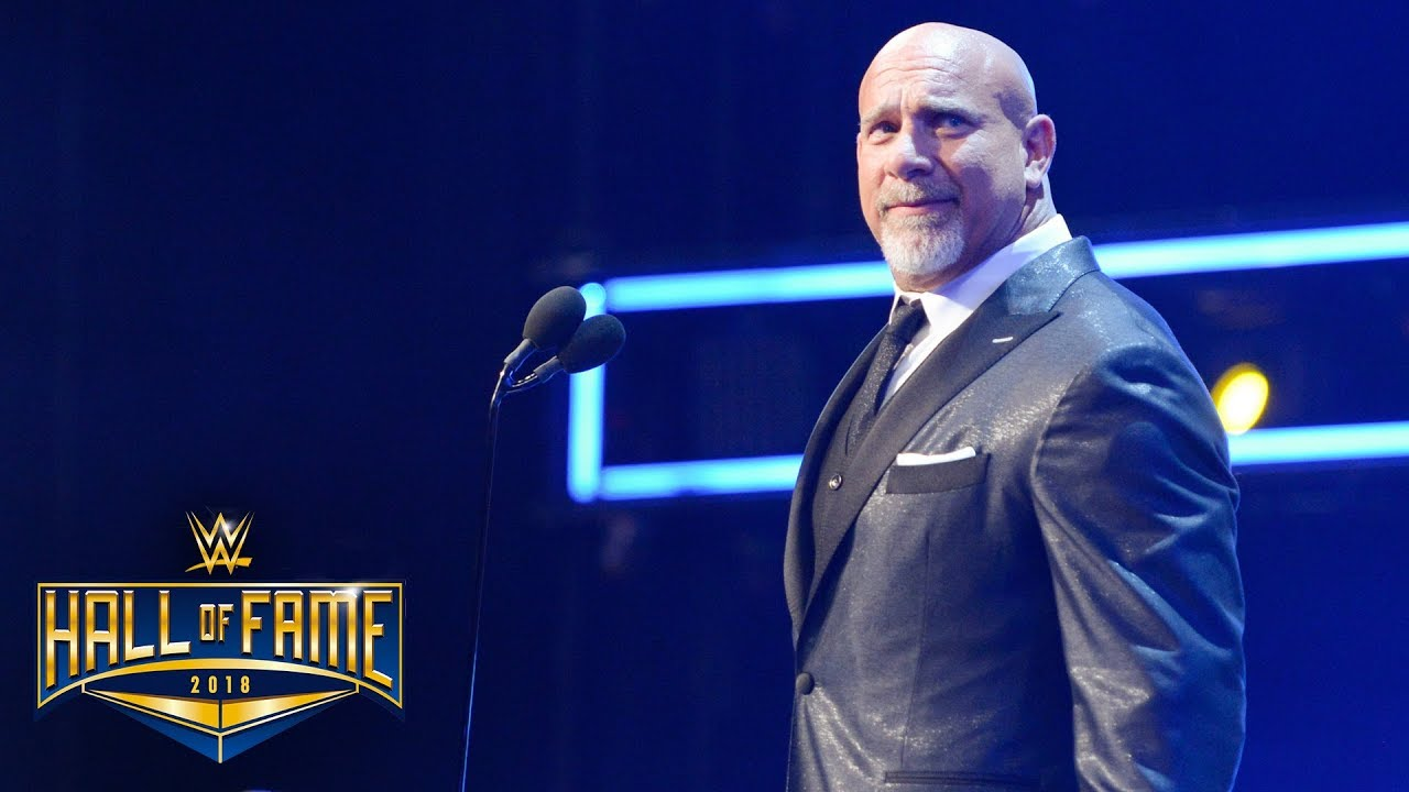 Image result for wwe hall of fame 2018 goldberg