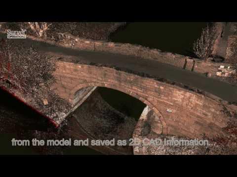Bridge Surveying - 3D Laser Scan