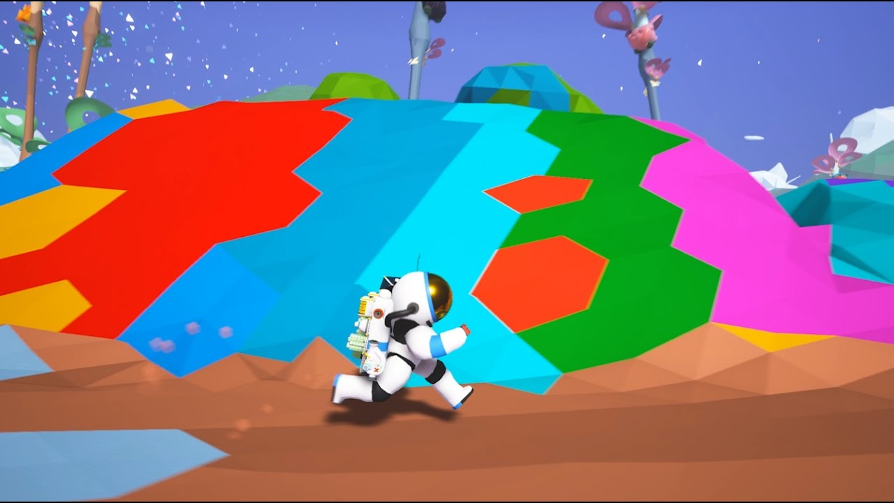 Astroneer gets colourful with new painting tools | Rock