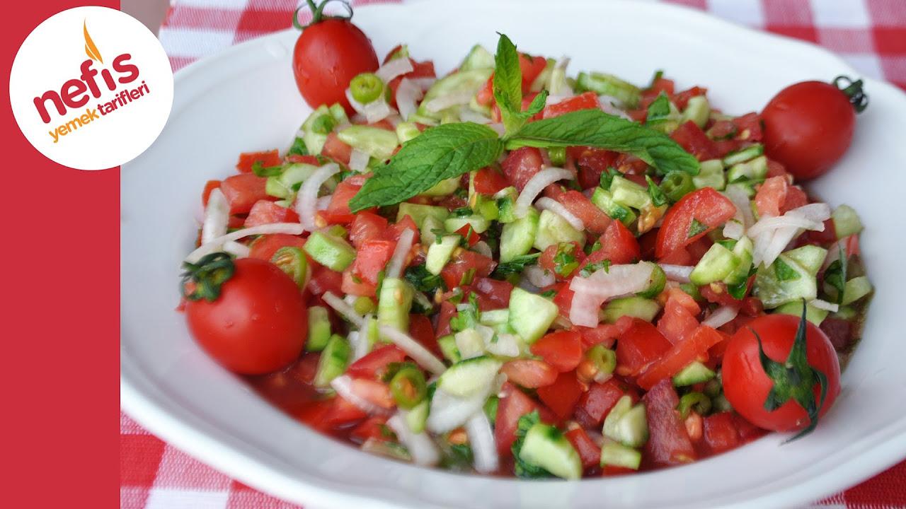 Çoban Salata Tarifi | Nefis Yemek Tarifleri