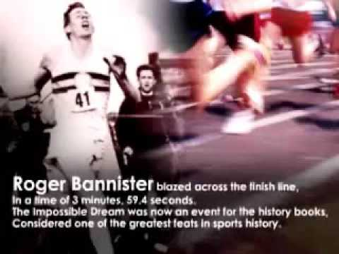Roger Bannister the impossible