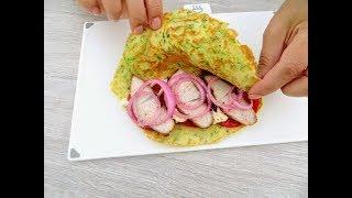 Не успеваю готовить! Такие кабачки улетают со свистом / Zucchini rolls