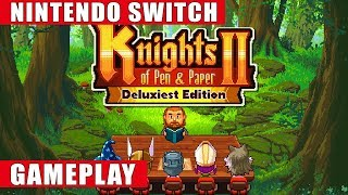 Knights of Pen & Paper 2 Deluxiest Edition Nintendo Switch Gameplay