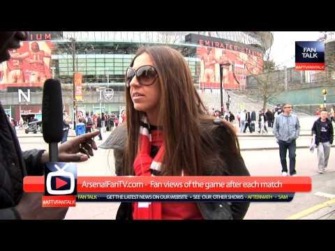 Arsenal 1 v Man Utd 1 - Should we salute Van Persie - ArsenalFanTV.com