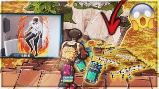 THE EARTH IS POISONOUS IN FORTNITE! -Solo Fortnite
