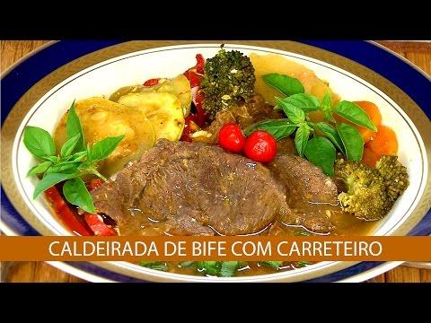 CALDEIRADA DE BIFE COM CARRETEIRO