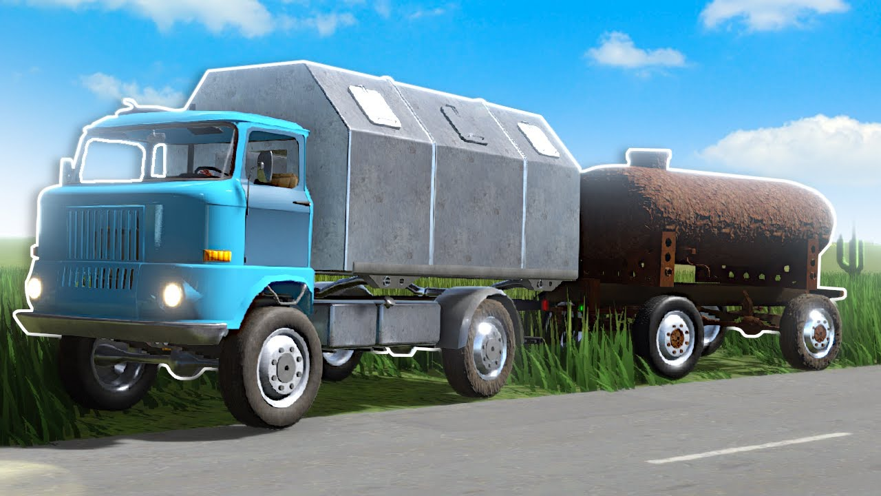 I Found a Tanker Trailer for my Truck! - The Long Drive NEW Update!